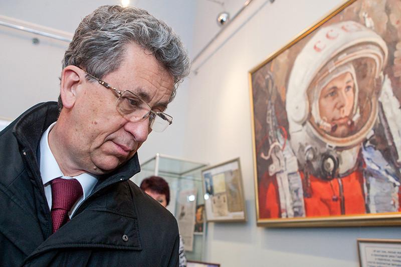 Космонавт ивице-президент РЖД Олег Атьков