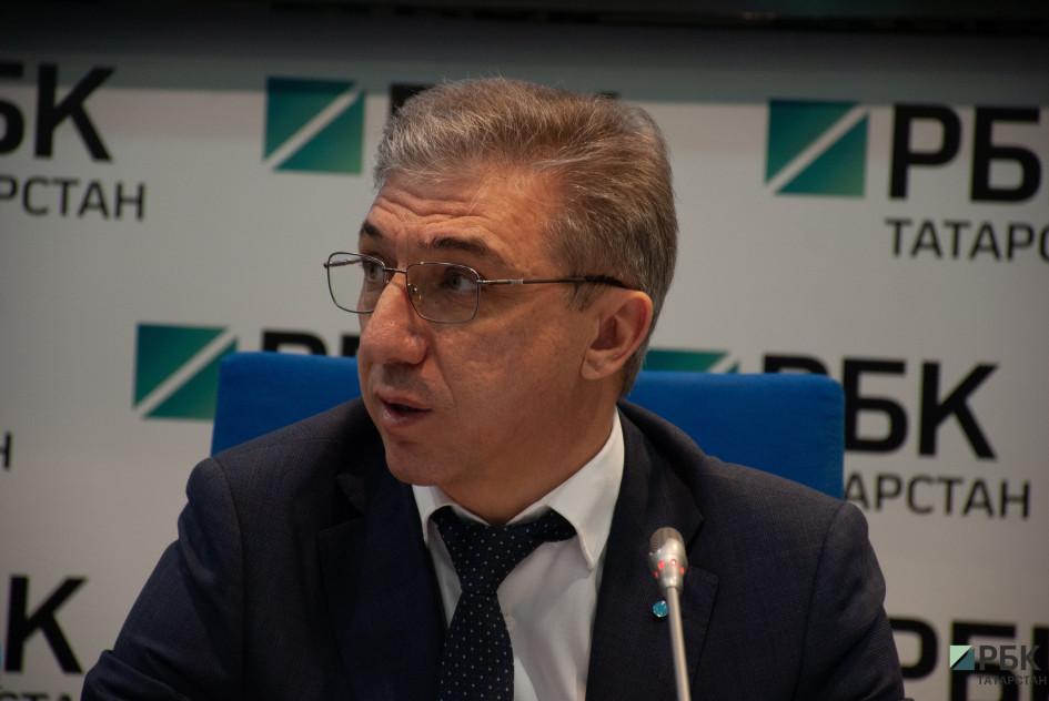 управляющего банком «Открытие» в Татарстане Дамир Габдулхаков