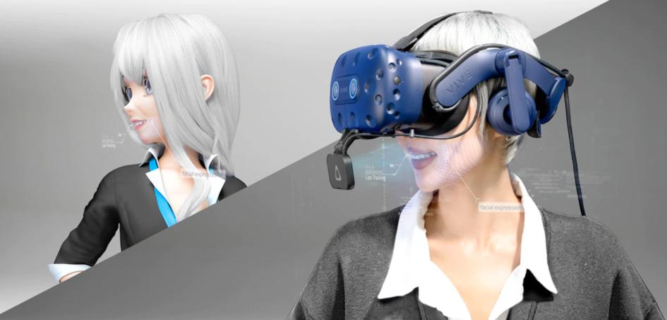 Vive Facial Tracker