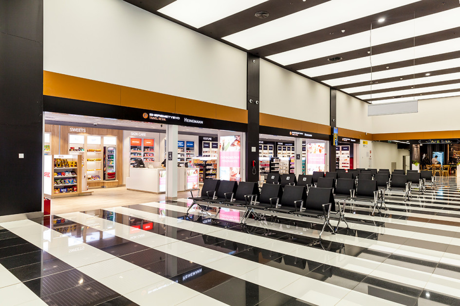 Зона Duty Paid в терминале B
