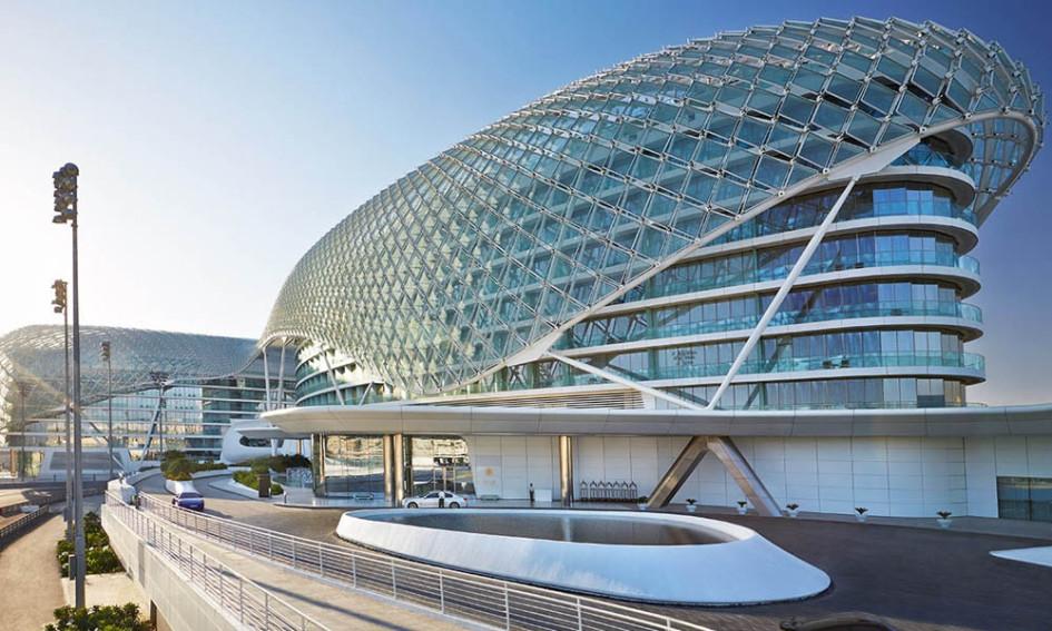 Объединенные Арабские Эмираты. Отель Яс