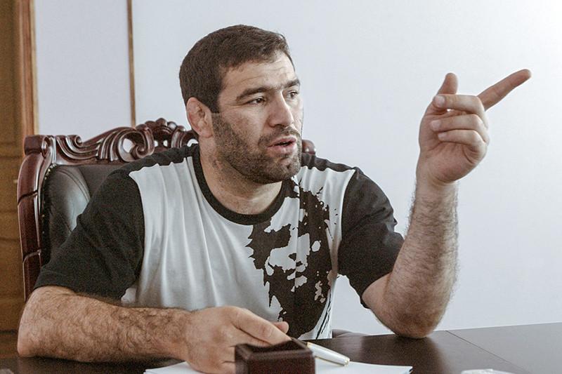 Руководитель отделения Пенсионного фонда РФ по Дагестану Сагид Муртазалиев