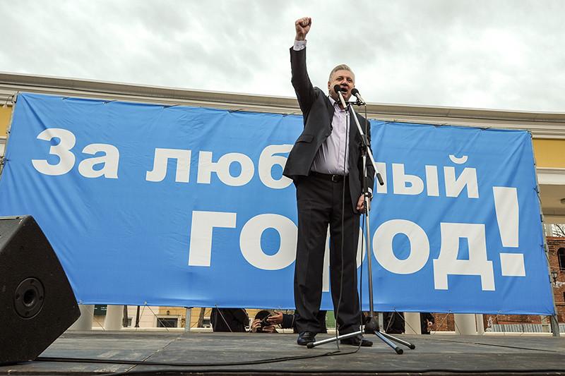 Бывший мэр Астрахани Михаил Столяров