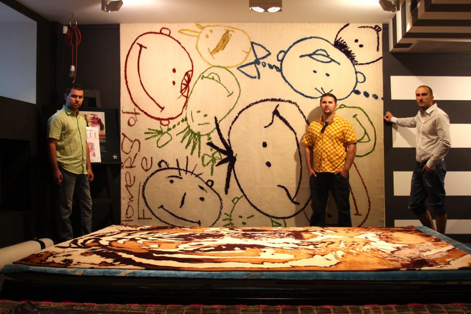 Эскиз ковра INRE, победивший в конкурсе Kover buro
