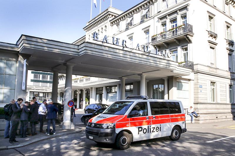 Отель Baur Au Lac в Цюрихе, где были арестованы чиновники ФИФА