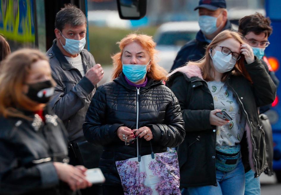 Москва во время новой вспышки коронавируса COVID-19 осенью 2020 года