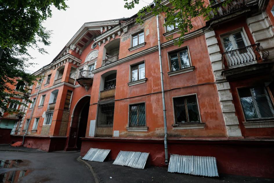 Исторический дом на улице Руставели, включенныйв проект программы реновации