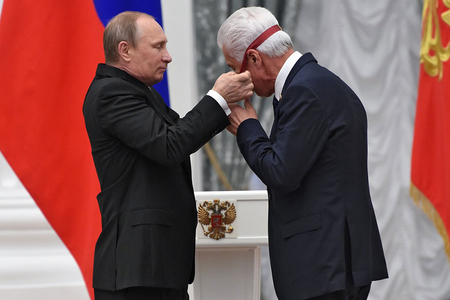 Владимир Путин иВладимир Васильев