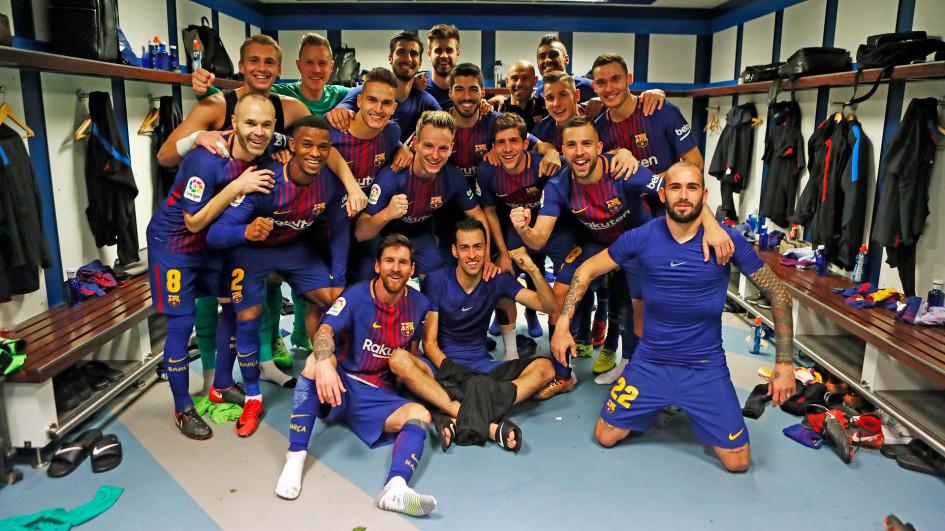 Фото: официальный твиттер «Барселоны»