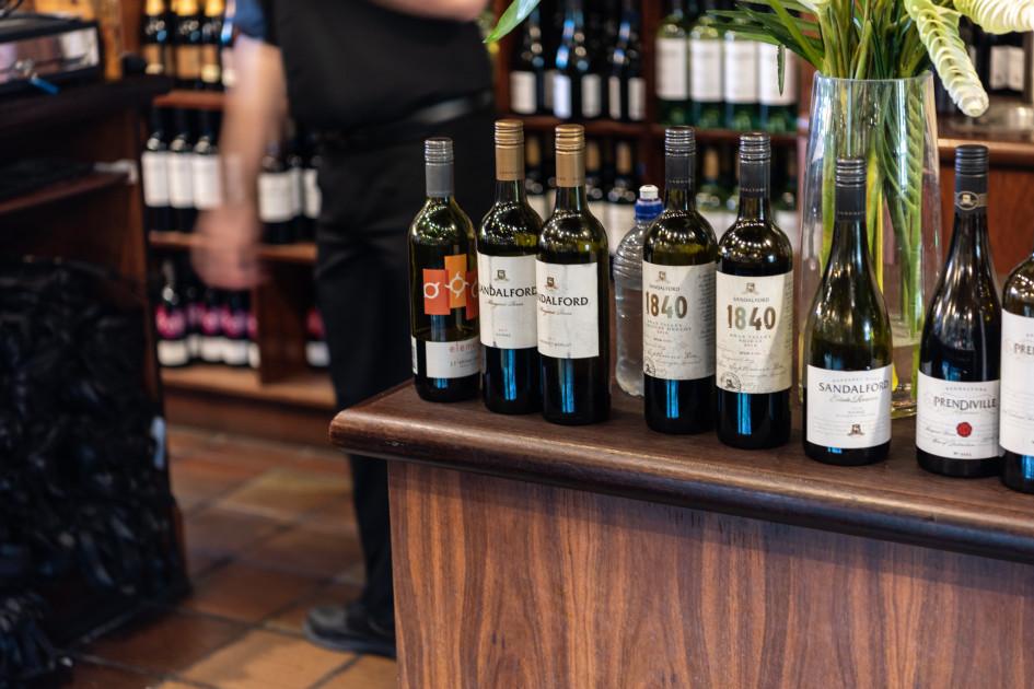Магазин вина Sandalford Wines в австралийском Перте