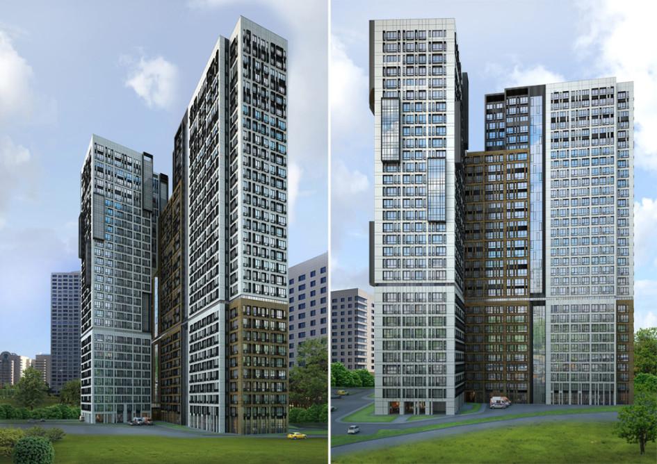 Жилой комплекс появится рядом со штаб-квартирой «Газпрома» в Москве
