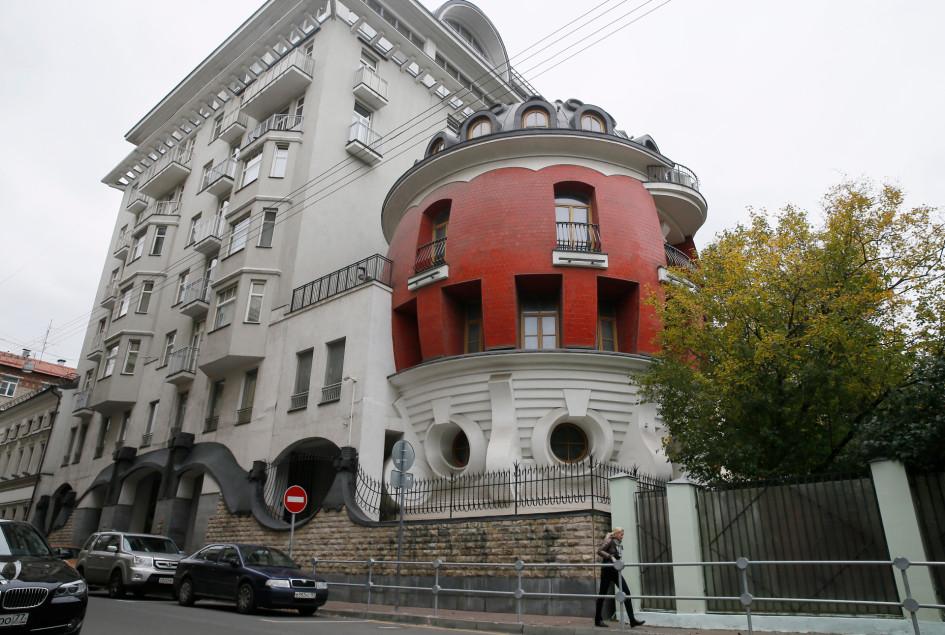 Дом-яйцо, построенный по проекту архитекторов Сергея Ткаченко и Олега Дубровского