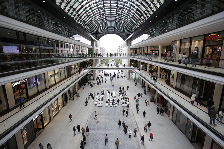 Торговый центр Mall of Berlin открылся вБерлине