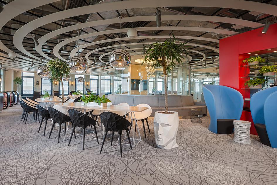Open space для формальных и неформальных встреч