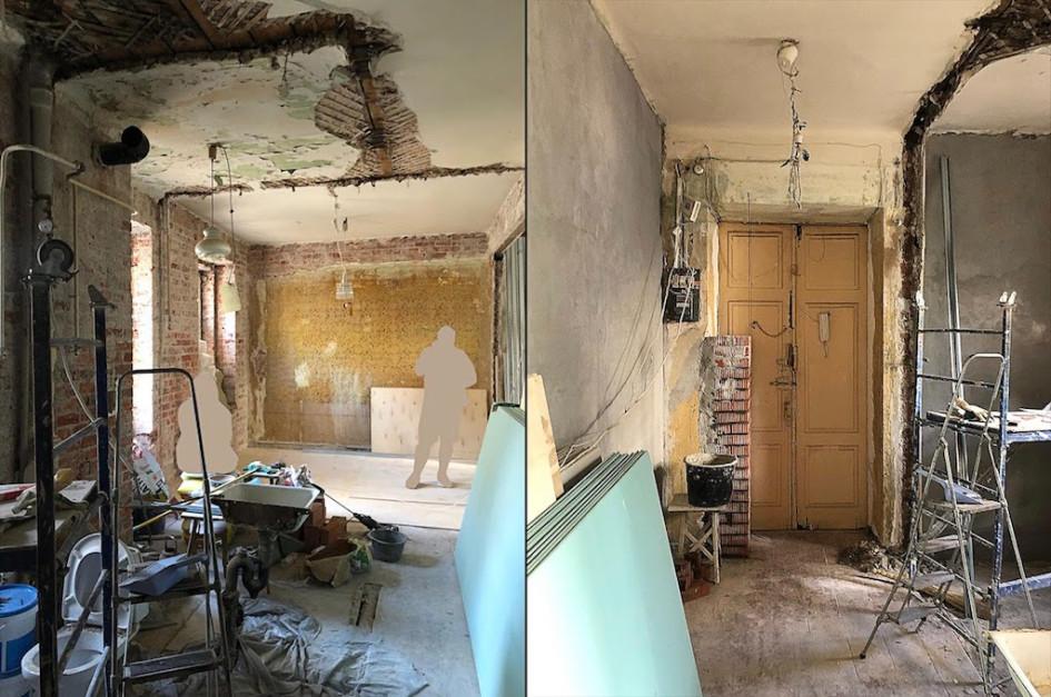 Инвестиционная квартира до ремонта