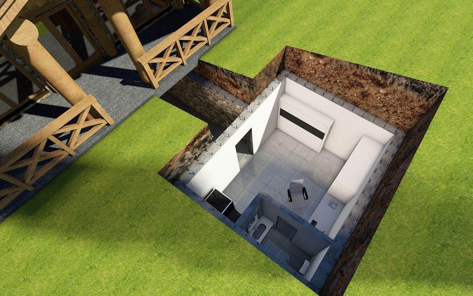 Проект модульного бомбоубежища