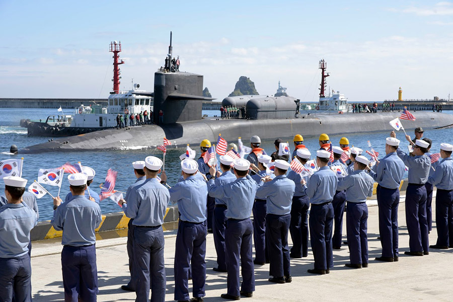 Фото: страница U.S. Navy Korea в facebook