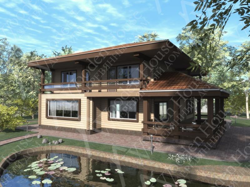 Проект дома Фен-Шуй