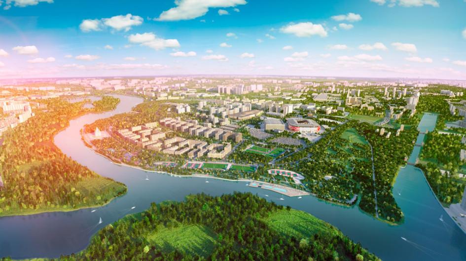 Визуализация проекта «Город нареке Тушино —2018»