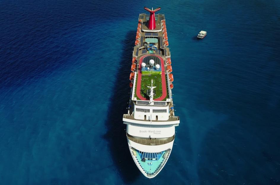 Круизный лайнер компании Carnival