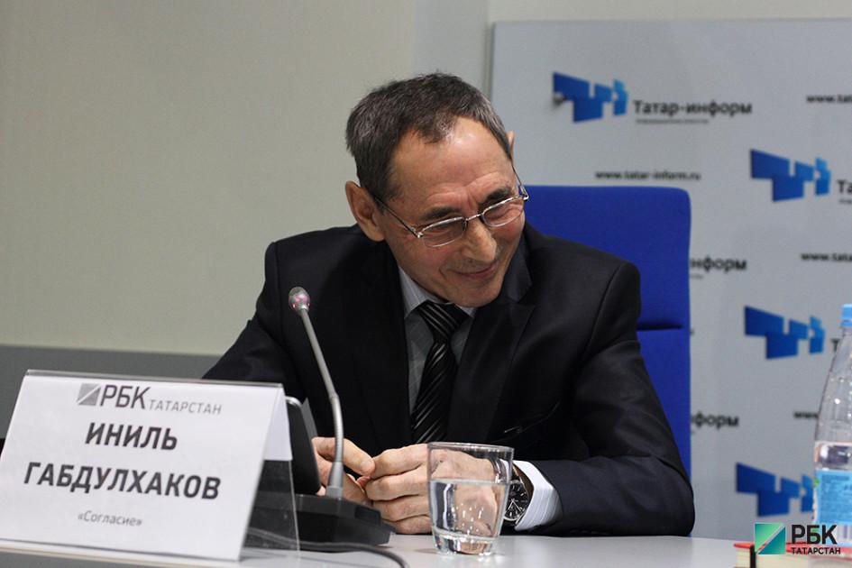 Представитель компании «Согласие» Иниль Габдулхаков