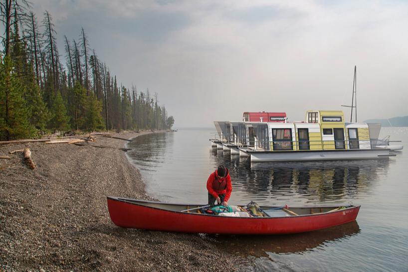 Проект дома-лодка Максима Живова