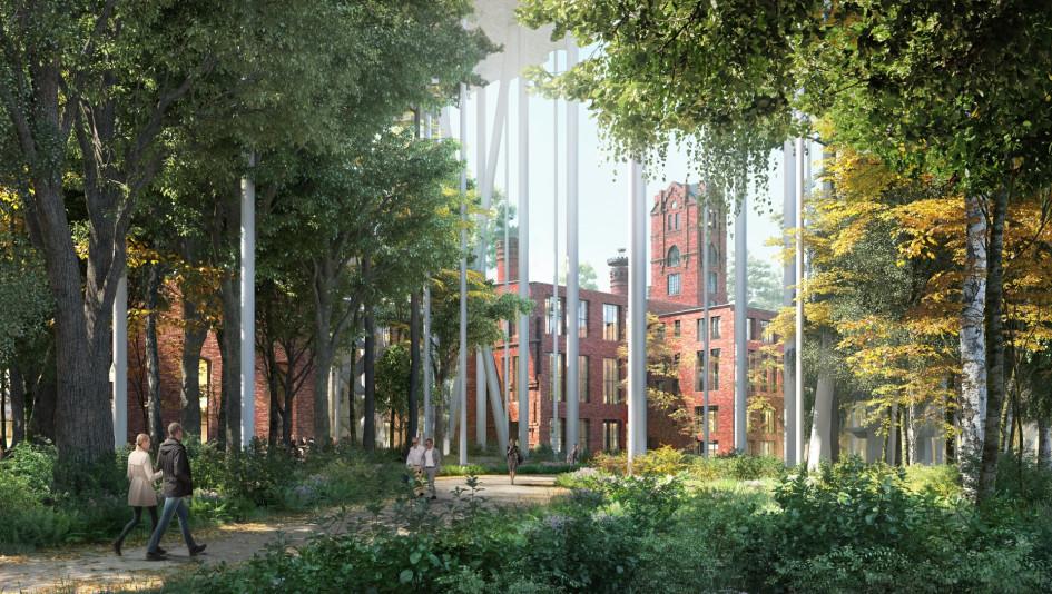Жилой комплекс «Бадаевский». Визуализация Herzog & de Meuron