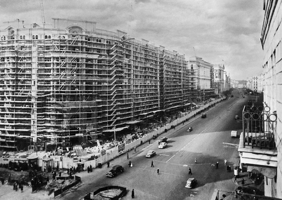Улица Горького, 1937 год