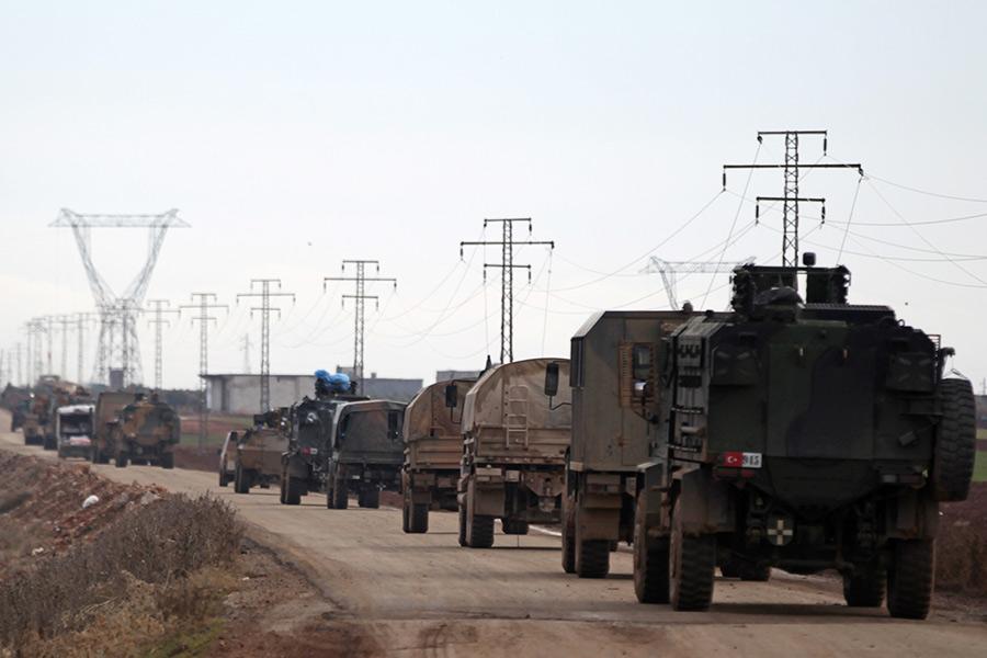 Турецкая военная техника вСирии. Февраль 2017 года