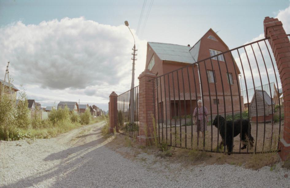 Дом из кирпича в Подмосковье. 1995 год