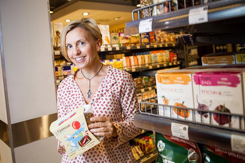 Александра Шафорост,основательница компании «Общество с натуральным вкусом №1»