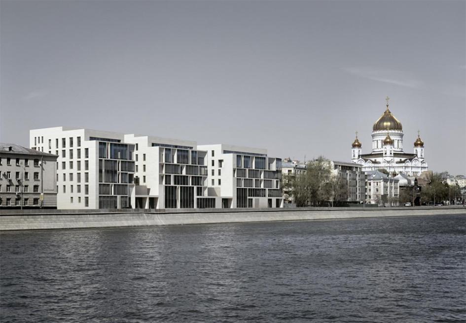 Из портфолио «Сергей Скуратов Architects»: ЖК «Баркли Плаза»