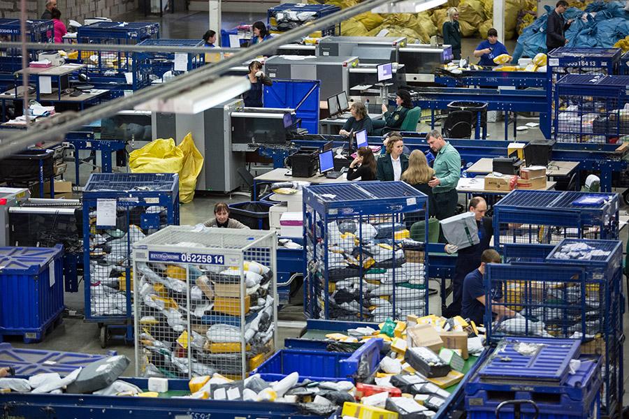 Распределительный терминал «Почты России»