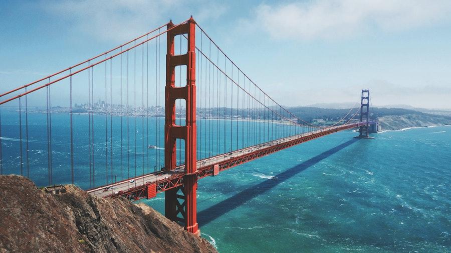 Мост «Золотые ворота» в Сан-Франциско, Калифорния