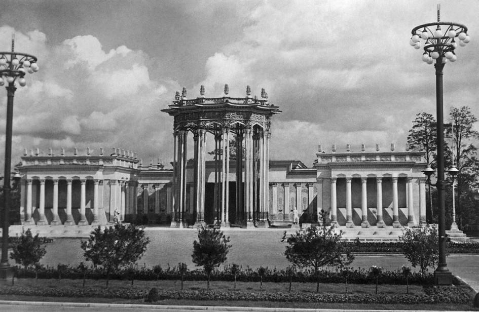 Павильон Узбекской ССР на Всесоюзной сельскохозяйственной выставке