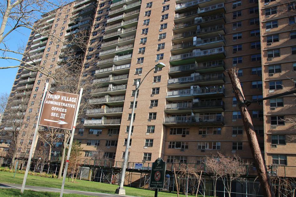 Trump Village вБруклине—жилой район был построен Фредом Трампом