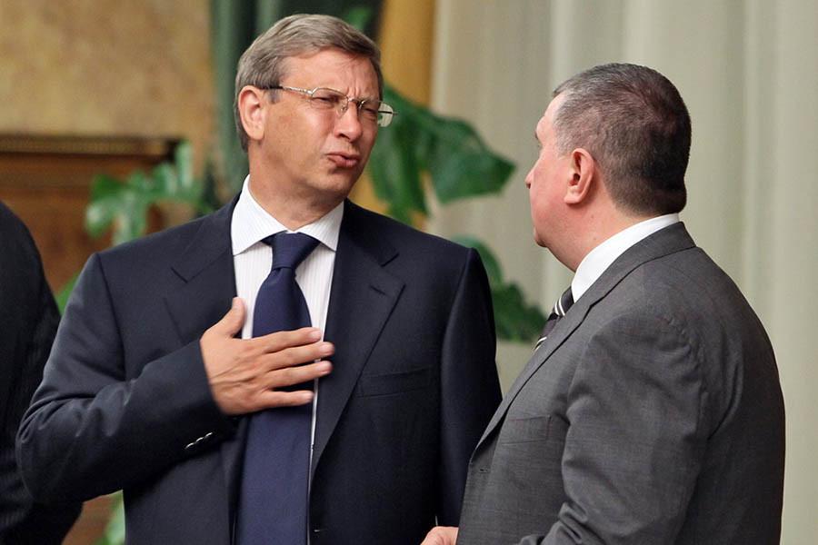 Владимир Евтушенков и Игорь Сечин