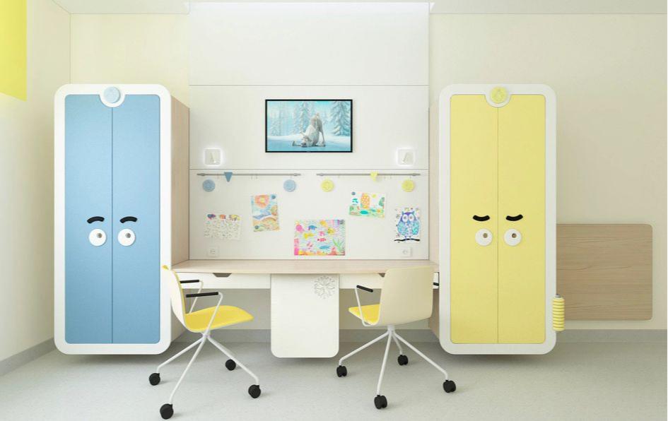 Чебурашкины создают стильные интерьеры для школ и детских садов