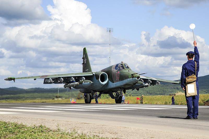Штурмовик Су-25 «Грач». Архивное фото