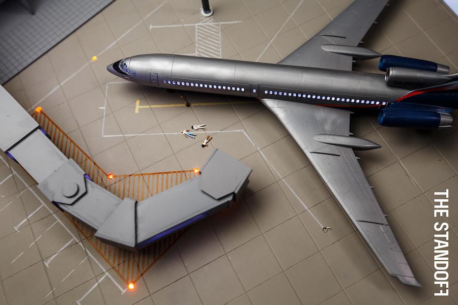 Макет аэропорта