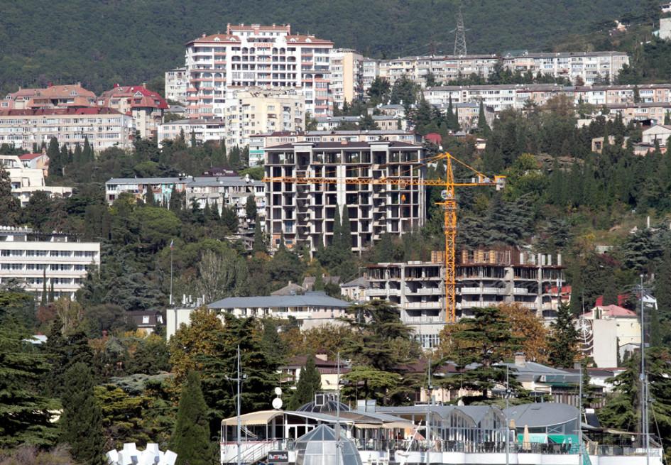 Строительство жилых домов вЯлте