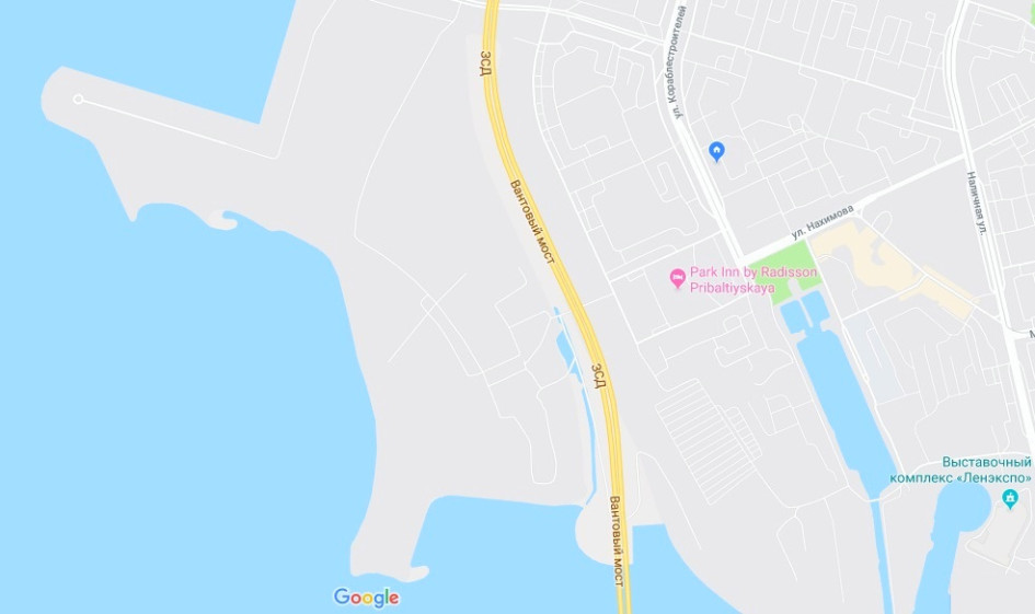 Намывные территории Васильевского острова