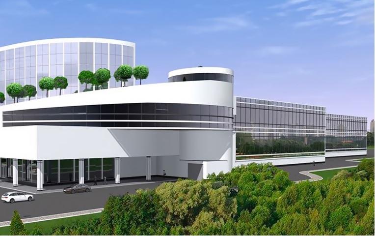 Проект индустриального центра