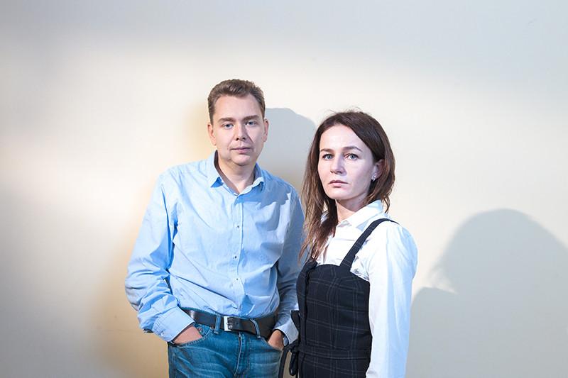 Сооснователи компании Smartway Максим Яремко и Инна Ткаченко