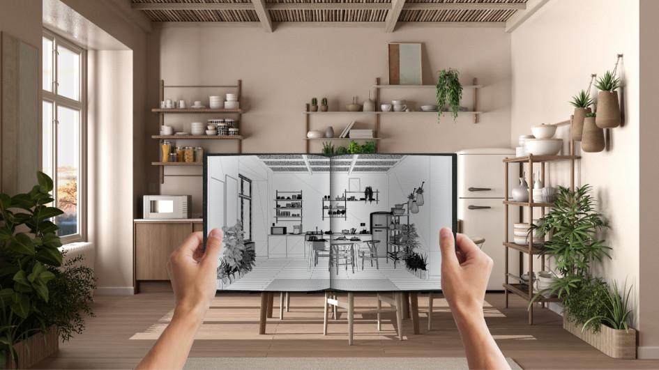 Обычно дизайн-проект включает в себя визуальные решения, отражающие концепцию проекта, цветовые схемы и т.д.