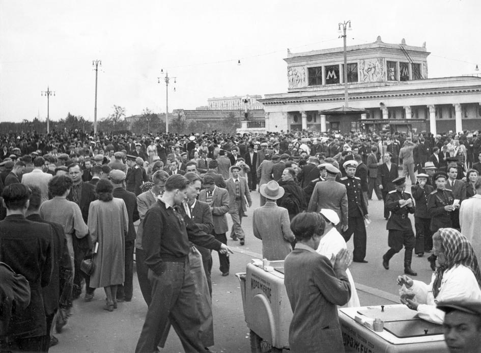 Стадион «Динамо». 1955 год