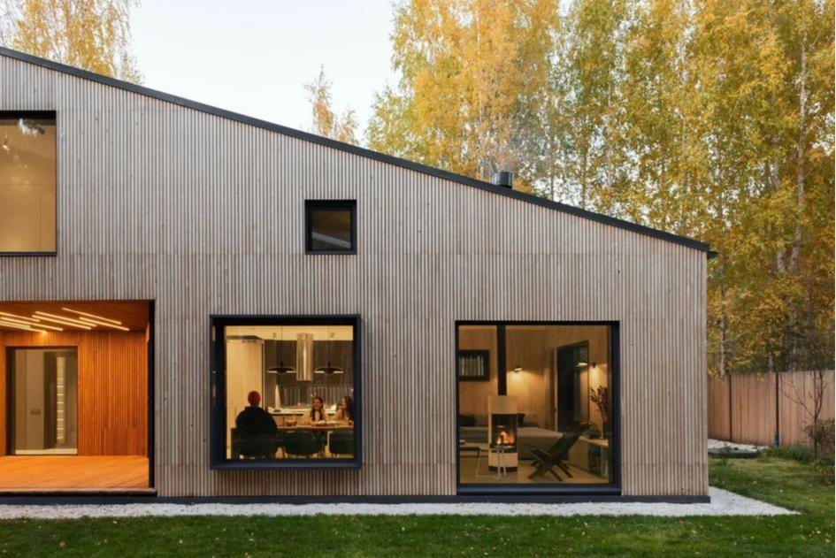 Модульный дом категории cubin siza