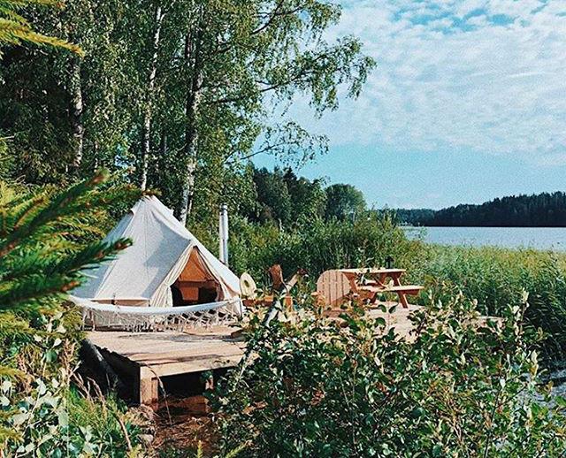 Кемпинг Soul Camp в Карелии