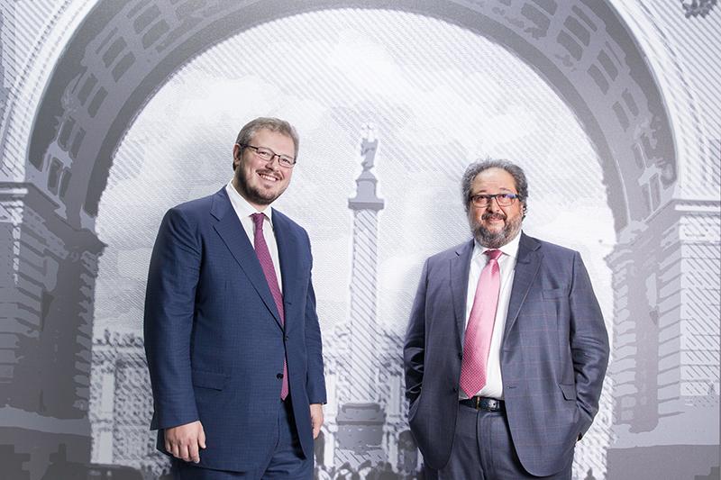 Предприниматели Дмитрий и Борис Минцы