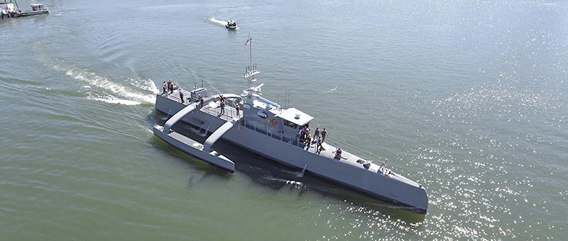 Экспериментальный беспилотный военный корабль «Морской охотник»